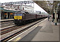 ST3088 : Class 47 diesel locomotive passing through Newport station by Jaggery