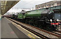 ST3088 : Mayflower passing through Newport station by Jaggery