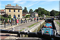 ST8260 : Canal Scene, Bradford on Avon by Des Blenkinsopp
