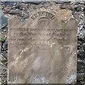 J5976 : Gravestone, Ballycopeland Presbyterian Graveyard by Rossographer