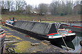 SO9491 : Steam powered narrow boat and butty by Chris Allen