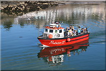 NW9954 : Predator II approaching Inner Harbour, Portpatrick by Billy McCrorie
