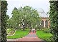 NT2475 : Approaching the Palm House, Royal Botanic Garden Edinburgh by Jim Barton