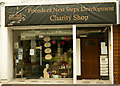SS5533 : Friends of Next Step Development charity shop, 52 Boutport St. Barnstaple by Roger A Smith