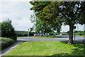 NZ2845 : Bus turning circle outside Frankland Prison by Trevor Littlewood