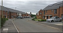 SK5802 : Pentland Close at St Mary's Park, Leicester by Mat Fascione