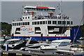 "SZ3395 : Car ferry ""Wight Sun"" departing Lymington by David Martin"