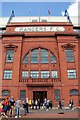 NS5564 : The main entrance to the Bill Struth Main Stand on Edmiston Drive at Ibrox Stadium by Steve Daniels