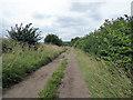 SP1304 : Minor road near Donkeywell Farm by Vieve Forward