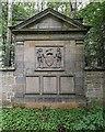 NH9757 : Brodie Castle Burial Ground by valenta