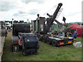 SO8040 : Welland Steam & Country Rally - putting the steam navvy to bed by Chris Allen
