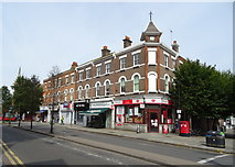 TQ2284 : Post Office on High Road, Willesden by JThomas