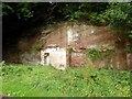 NY6123 : Sandstone cliff near Lyvennet Bridge by Oliver Dixon