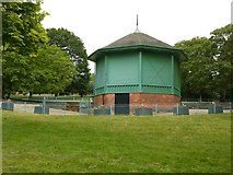 SK5640 : Nottingham Arboretum bandstand by Alan Murray-Rust