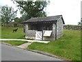 NY6216 : Bus shelter, Maulds Meaburn by Oliver Dixon