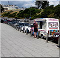 SX4753 : Super Whippy ice cream van, Hoe Road, Plymouth by Jaggery