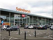 NT2274 : Sainsbury's, Craigleith Shopping Park by Oast House Archive