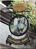NT2573 : Greyfriars Bobby sign by Oast House Archive