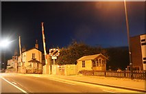 TA1180 : Level crossing by Filey Station by David Howard