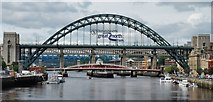 NZ2563 : Tyne Bridge by Chris Morgan