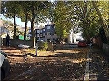 TQ3370 : Uphill on Highland Road towards Vicars Oak Road, Upper Norwood, south London by Robin Stott