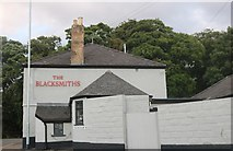 SK9767 : The Blacksmiths pub, Bracebridge Heath by David Howard