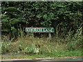 TG1617 : Church Lane sign by Adrian Cable