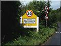 TG1617 : Felthorpe Village Name sign on Taversham Road by Adrian Cable