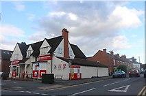 SK9135 : Huntingtower Road at the junction of Harlaxton Road by David Howard