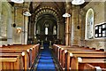 NY1133 : Bridekirk, St. Bridget's Church: The nave by Michael Garlick