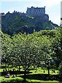 NT2573 : Princes Street Gardens and Edinburgh Castle by David Dixon