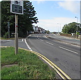 ST3090 : Your Speed indicator on a Malpas corner, Newport by Jaggery