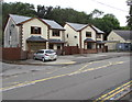 SO1409 : Detached houses on the west side of Church Street, Tredegar by Jaggery