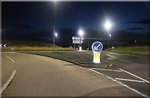 TA1176 : Sands Road at Hunmanby Sands Roundabout by David Howard