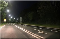 TA1666 : The A164, West Hill by David Howard