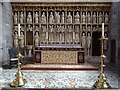 SO5174 : Reredos in St Lawrence's church by Philip Halling
