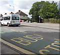 ST3090 : Richies Travel minibus, Malpas Road, Newport by Jaggery