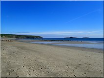 SH1726 : Aberdaron beach at low tide by Eirian Evans