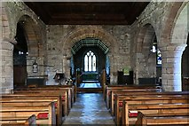 NY2039 : Torpenhow, St. Michael's Church: The nave by Michael Garlick