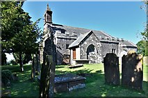 NY2039 : Torpenhow, St. Michael's Church: South western aspect by Michael Garlick