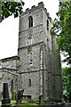 NZ2128 : South Church, St. Andrews Church: Northern aspect of the tower by Michael Garlick