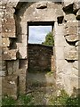 C6706 : Inside of the West Door at Banagher Old Church by Phil Champion