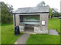 NY6813 : Bus shelter, Great Asby by Oliver Dixon
