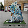 NH6645 : Go Nuts Squirrel, Falcon Square by Craig Wallace