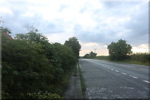 SK9973 : Parking area on the A158, Lincoln by David Howard