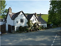 SJ1532 : The West Arms Hotel, Llanarmon DC by Richard Law