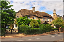 ST8080 : Hunters Lodge, The Street, Acton Turville, Gloucestershire 2019 by Ray Bird