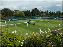 TQ2472 : Aorangi Park Tennis Courts by Stephen McKay