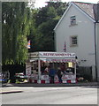 SU1660 : Refreshments stall, Avon Place, Pewsey by Jaggery