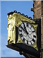 SP3378 : Clock on Coventry Council House by Philip Halling